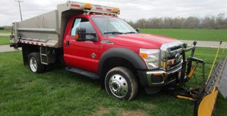 2011 Ford F-550 Dump Truck